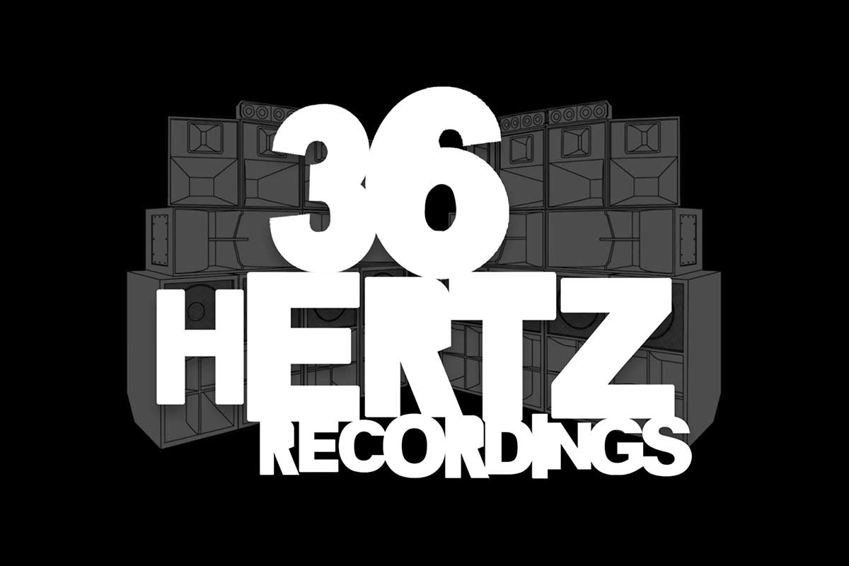 36 Hertz Recordings Website